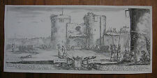 STEFANO DELLA BELLA ´EINGANG ZUM FORT; ENTRANCE TO A FORTRESS´ VESME 264, 1641
