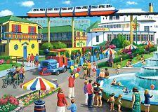 NUOVO! Ravensburger campi di vacanze ricordi da Kevin Walsh Puzzle 1000 PEZZI 19719