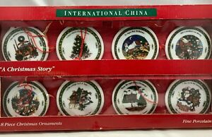 A Christmas Story Porcelain Christmas Ornaments by Susan Winget
