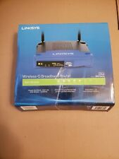 Linksys WRT54GL 54 Mbps 4-Port 10/100 Wireless G Router