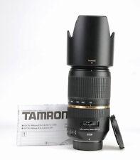 Tamron 70-300mm F4-5.6 SP Di VC USD Autofocus Lens - Nikon +F/R Lens Caps + Hood