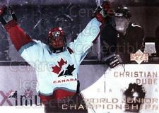 1996-97 UD Ice #136 Christian Dube