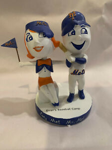 Mr. Met and Lady Met St. Lucie Mets SGA Dual Bobblehead - RARE