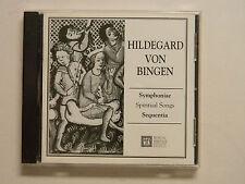 Sequentia Hildegard Von Bingen SYMPHONIAE SPIRITUAL SONGS CD 1995 MHS
