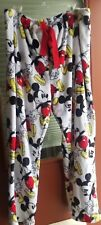 Women's Disney Mickey Mouse Soft Fleece Pajama Pants Size 3X (22-24)