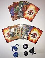 Random Lot of 5 Bakugan Battle Brawlers with 8 Magnetic Cards & 5 Regular Cards