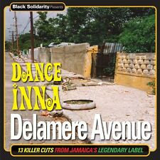 DANCE INNA DELAMERE AVENUE BLACK SOLIDARITY LABEL:13 KILLER CUTS  VINYL LP NEU
