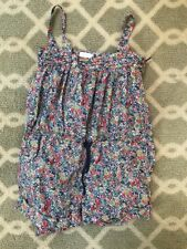 Jacadi Girl's Liberty Print Romper  Size 4 years  Bonpoint Style