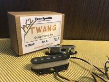 1952 Tele Pickups Tone Specific Twang Set Fits Fender Telecaster. Vintage Tone
