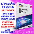 Bitdefender Total Security 2021 (DACH) 3-5-10 PC / 1-2-3 Jahre, Aktivierungskey <br/> 100% ORIGINAL KEY ✔ DIGITAL VERSAND ✔ RECHNUNG MIT MWST