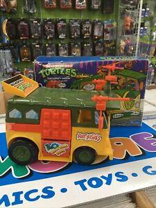 Vintage TMNT Ninja Turtles Van Party Wagon 1989 With Original Box 100% Complete