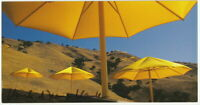 CHRISTO und JEANNE-CLAUDE - orig. Autogramm, 12x23 cm, The Umbrellas, signed