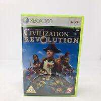 Sid Meier's Civilization Revolution Xbox 360 Fast Free Postage