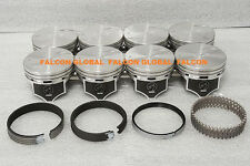 Chevy 7.4L 454ci Sealed Power Hypereutectic Pistons+MOLY Rings 1996*-2000 STD