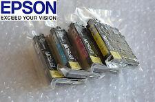 New Genuine OEM Epson 252 4 Ink Set WF-3620 3640 7610 7620 7110 More than Retail