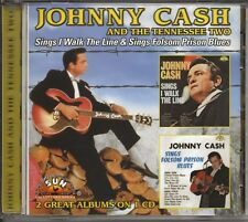 JOHNNY CASH – Sings I Walk The Line/Folsom Prison Blues (Collectables Records)