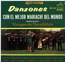 LP DANZONES CON EL MEJOR MARIACHI DEL MUNDO VARGAS DE TECALITLAN
