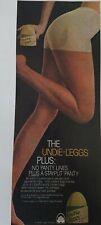 1979 women's Stayput Undie Leggs panty pantyhose hosiery vintage fashion ad