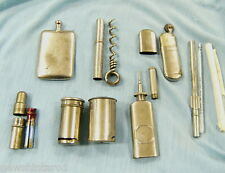 #D116. COLLECTION OF 8 SMALL CHROME/NICKEL PLATED IMPLEMENTS