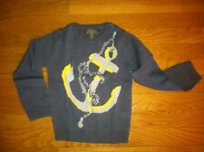 STELLA McCARTNEY GAP INTARSIA ANCHOR SWEATER ORG. $68 SIZE 5 BNWT