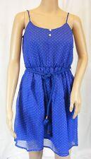 ★ LISA MALO ★ Gr. 36 ~ blau/weiss ~ Kleid Minikleid Romantisch ~ mit Gürtel NEU