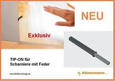 Blum TIP-ON für grifflose Türen mit Scharnieren mit Feder 956A1006