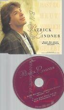 CD--PATRICK LINDNER -- --- HAST DU HEUT' WIRKLICH SCHON G