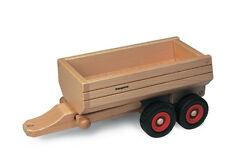 Kipper grün für Traktor njoykids 14100 aus Holz Kipp-Anhänger