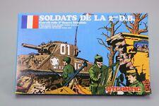 ZO066 ATLANTIC 1/87 Ho 57 Figurine Soldats de la 2ème DB WWII