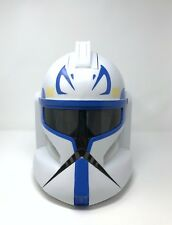 2008 Star Wars Captain Rex talking voice helmet storm trooper toy play halloween
