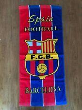 FC Barcelona Mini Beach Towel BRAND NEW Soccer Football