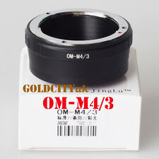 Olympus Lens to Olympus Micro Four Thirds M43 OM-M4/3 Mount Adapter