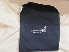 Segway Historic SegwayFest 2004 T Shirt - New - X-Large