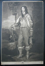Schabkunstblatt von Valentine Green: Thomas Wharton 1775/Mezzotint Politician