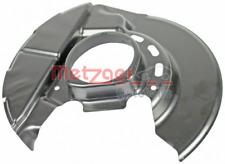 Spritzblech, Bremsscheibe für Bremsanlage Vorderachse METZGER 6115035