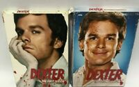 Dexter The Complete First & Second Season DVD Box Set Series TV Show