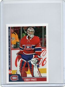 2018 Panini Direct Sticker Carey Price # 111
