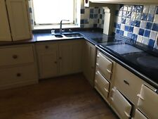 Country Solid Wood Kitchen with Granite worktops