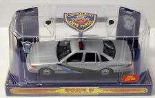 POLICE CAR Code 3 Die-Cast Collectible with PATCH Colorado State Patrol #829~NIB
