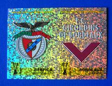 FIGURINA PANINI CALCIO COPPE 1997/98 - N.170 - SCUDETTO - BENFICA/BORDEAUX
