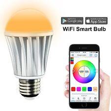 WiFi RGB bombilla Wireless LED bulb hue color per smartphone cambiar Smart Home