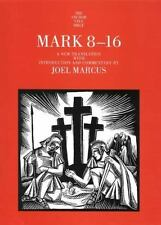 Mark 8-16 (The Anchor Yale Bible Commentaries) by Marcus, Joel