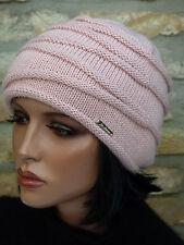 Damen Mütze Strickmütze Wintermütze beanie warm doppellagig Farbauswahl