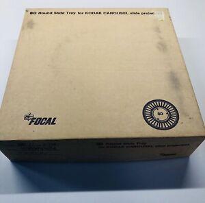Focal 80 Round Slide Tray For Kodak Slide Projectors Code 20-13-15