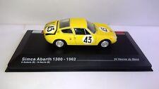 SIMCA ABARTH 1300 - 1962 - 24 Heures de Le Mans - C. DUBOIS