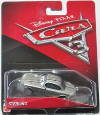 Disney Pixar Cars 3 Sterling 1:55 Die-Cast Car vhtf