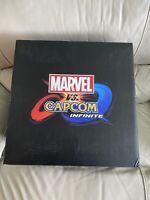 PS4*Marvel vs Capcom Infinite Collector's Edition*Sealed*MegaMan*Street Fighter*