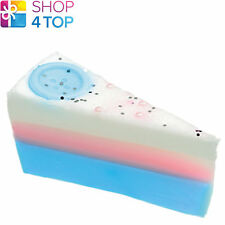 CUTE AS A BUTTON SOAP CAKE SLICE BOMB COSMETICS CLARY SAGE HANDMADE NEW