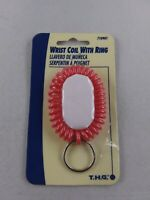 NEW Vintage Hillman Wrist Coil Ring Keychain Ring Fob Chain *EE88