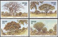 Venda 1982 Baobab/Fig/Teak/Trees/Plants/Nature/Leaves/Fruit 4v set (s5286a)